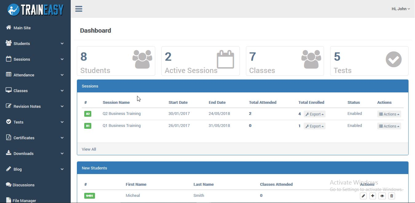 Training & Learning Management System - TrainEasy Download